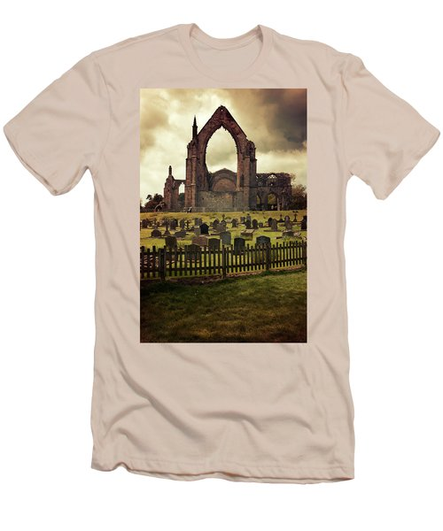 Bolton Abbey At Sunset Men's T-Shirt (Slim Fit) by Jaroslaw Blaminsky