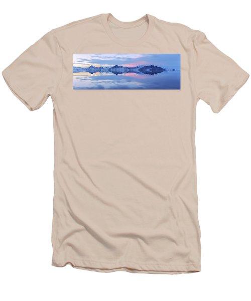 Men's T-Shirt (Slim Fit) featuring the photograph Bonneville Lake by Chad Dutson