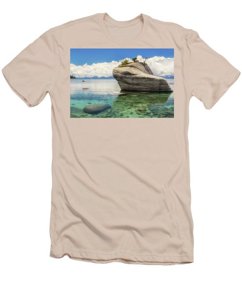 Bonsai Rock Men's T-Shirt (Slim Fit) by Marc Crumpler