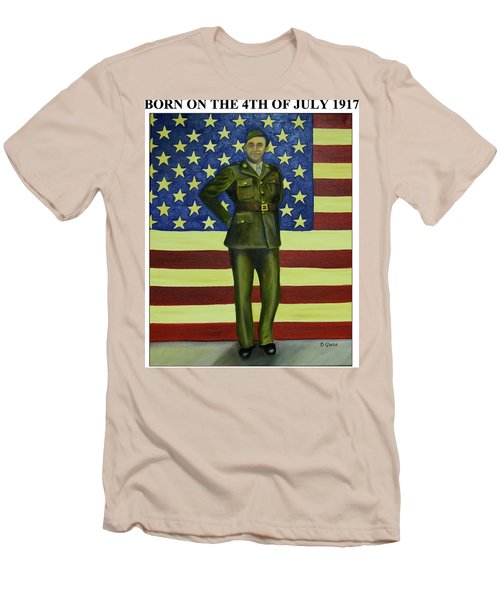 Born On The 4th Of July Men's T-Shirt (Athletic Fit)