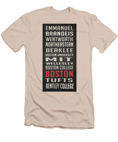 Boston Collegetown Men's T-Shirt (Athletic Fit)