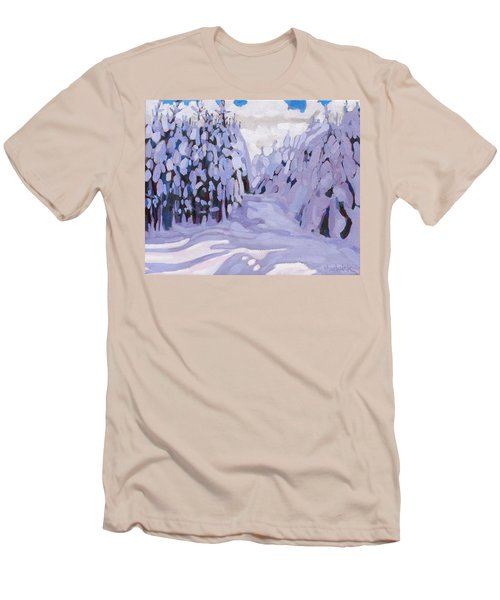 Boughs Before The Wind Men's T-Shirt (Athletic Fit)
