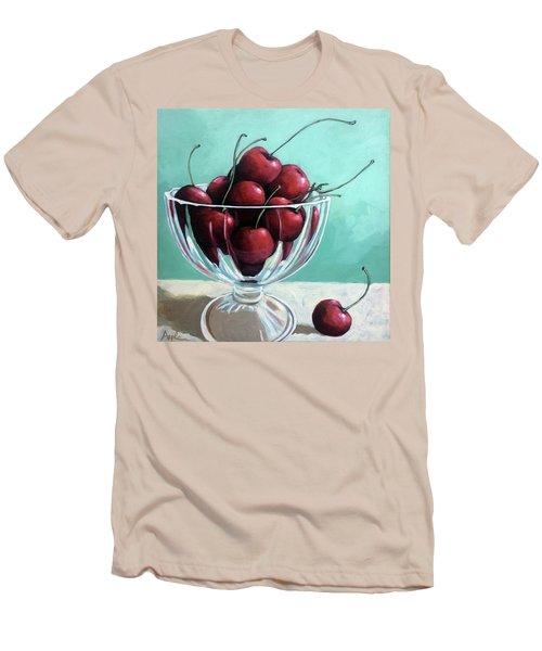 Bowl Of Cherries Men's T-Shirt (Slim Fit)