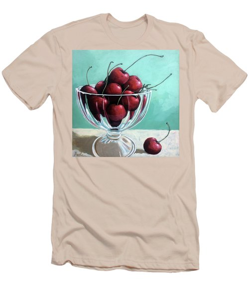 Bowl Of Cherries Men's T-Shirt (Athletic Fit)