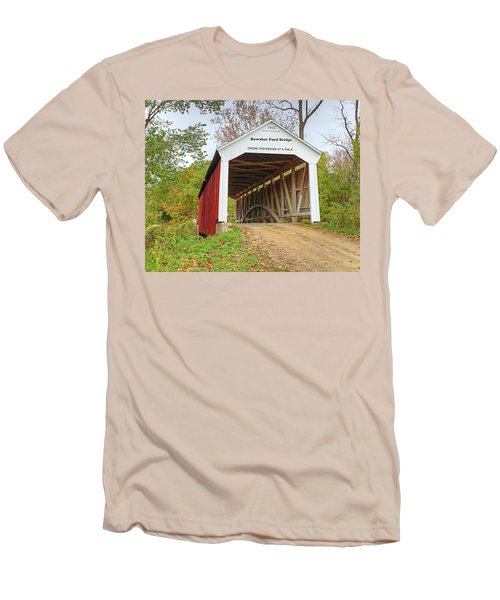 Bowser Ford Covered Bridge Men's T-Shirt (Athletic Fit)
