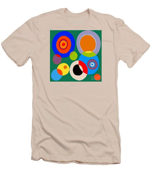 Men's T-Shirt (Slim Fit) featuring the painting boy by Beth Saffer