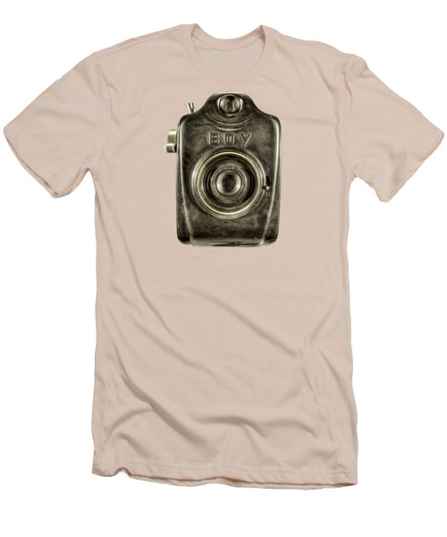 Boy Camera Front Men's T-Shirt (Athletic Fit)