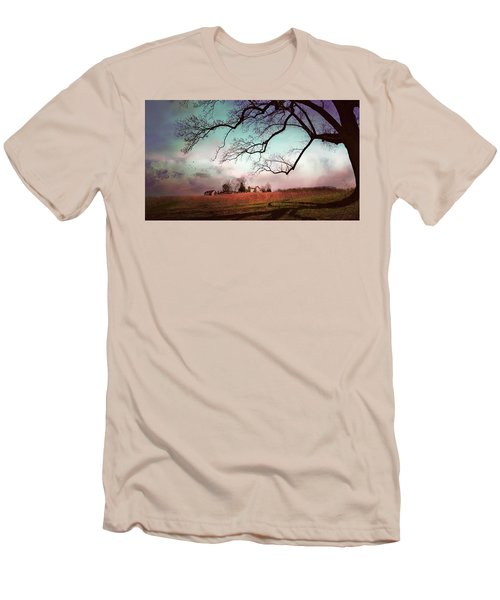 Break Of Dawn Men's T-Shirt (Athletic Fit)