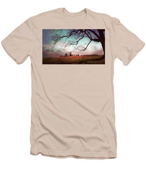 Break Of Dawn Men's T-Shirt (Athletic Fit)