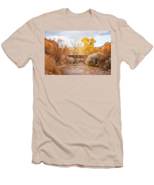 Bridge In Teasdale Men's T-Shirt (Athletic Fit)