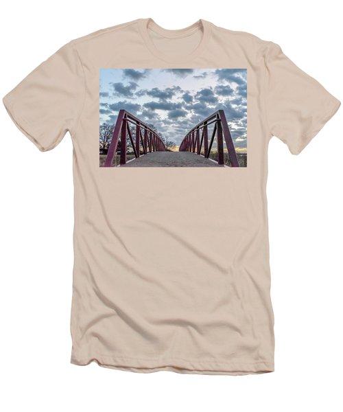 Bridge To The Clouds Men's T-Shirt (Athletic Fit)