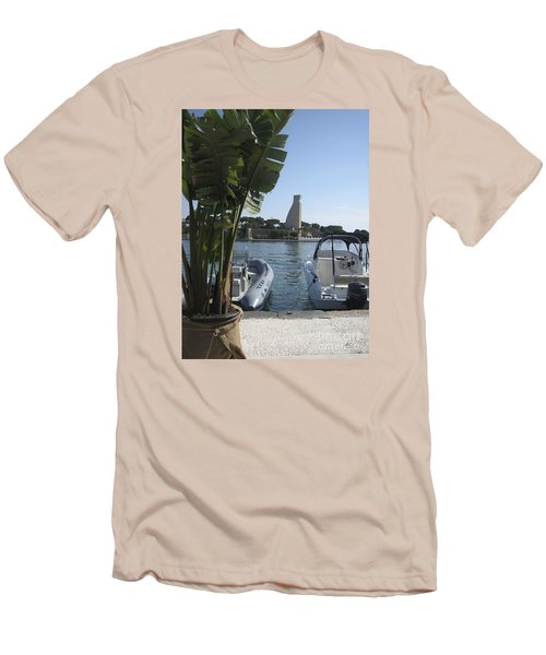 Brindisi By The Sea In May Men's T-Shirt (Athletic Fit)