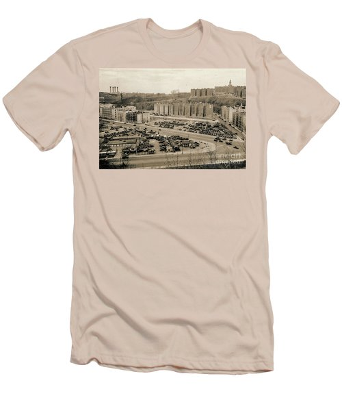 Broadway And Nagle Ave 1936 Men's T-Shirt (Athletic Fit)