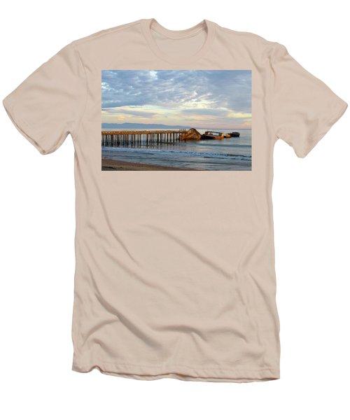 Broken Boat, Ss Palo Alto Men's T-Shirt (Athletic Fit)