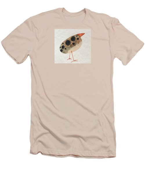 Brown Spotted Bird Men's T-Shirt (Athletic Fit)