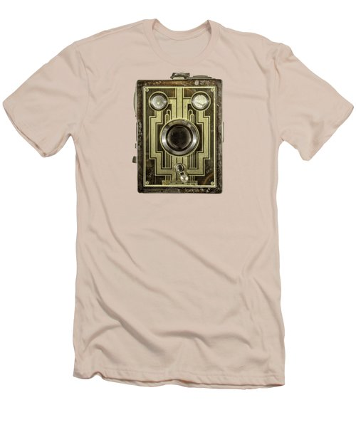 Brownie Six-20 Front Men's T-Shirt (Slim Fit) by YoPedro