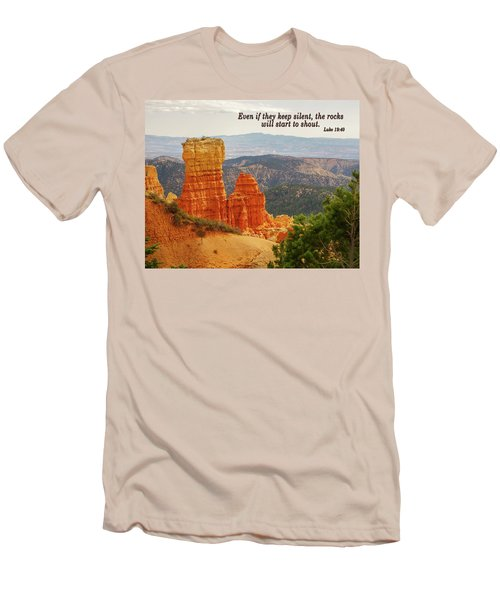 Bryce Canyon Men's T-Shirt (Slim Fit) by Jim Mathis