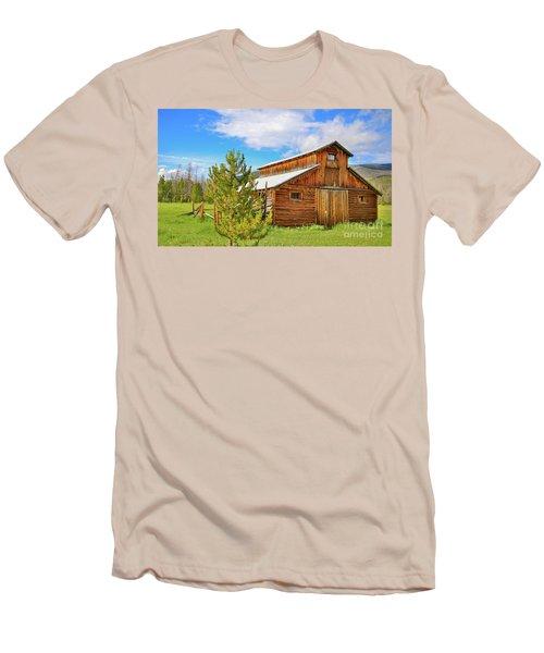 Buckaroo Barn 2 Men's T-Shirt (Slim Fit) by John Roberts