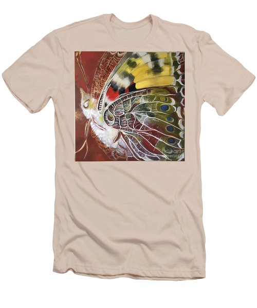 Butterfly Artbox Project 1 Basel Men's T-Shirt (Athletic Fit)