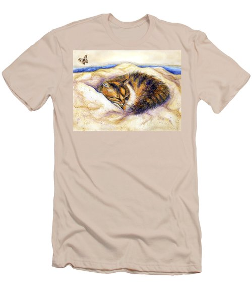Butterfly Dreams Men's T-Shirt (Slim Fit) by Retta Stephenson