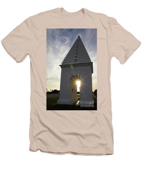 Butteries Sunset Men's T-Shirt (Slim Fit) by Megan Cohen