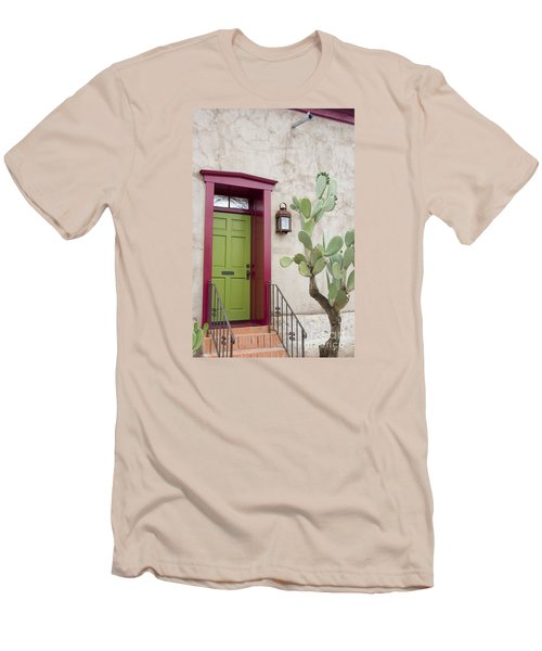 Cactus And Doorway Men's T-Shirt (Athletic Fit)