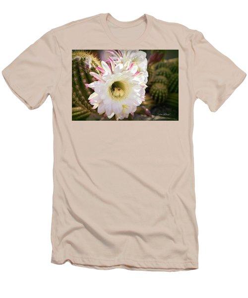 Cactus Bloom 2 Men's T-Shirt (Athletic Fit)
