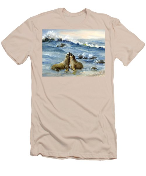 California Sea Lions Men's T-Shirt (Athletic Fit)