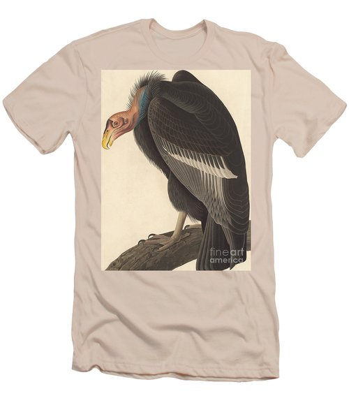Californian Vulture Men's T-Shirt (Slim Fit) by John James Audubon