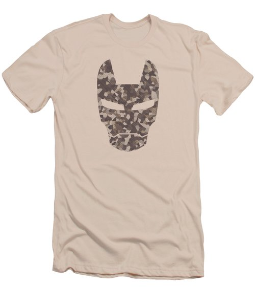 Camouflage Mask Men's T-Shirt (Athletic Fit)