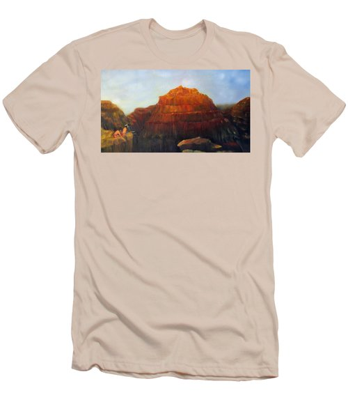 Canyon Overlook II Men's T-Shirt (Slim Fit) by Loretta Luglio