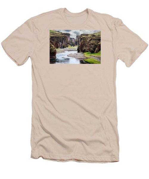 Canyon Vista Men's T-Shirt (Slim Fit) by William Beuther