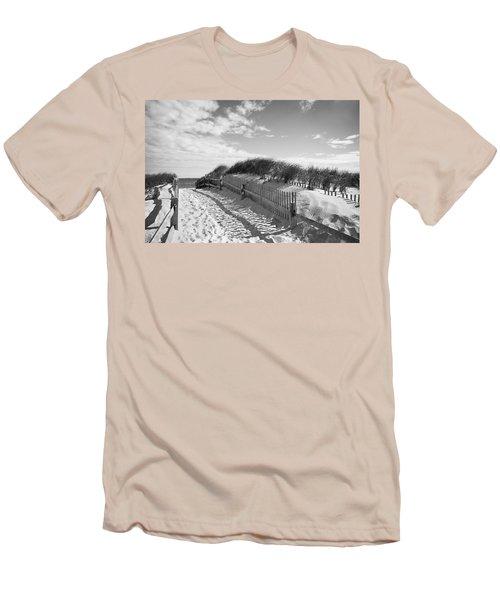 Cape Cod Beach Entry Men's T-Shirt (Athletic Fit)