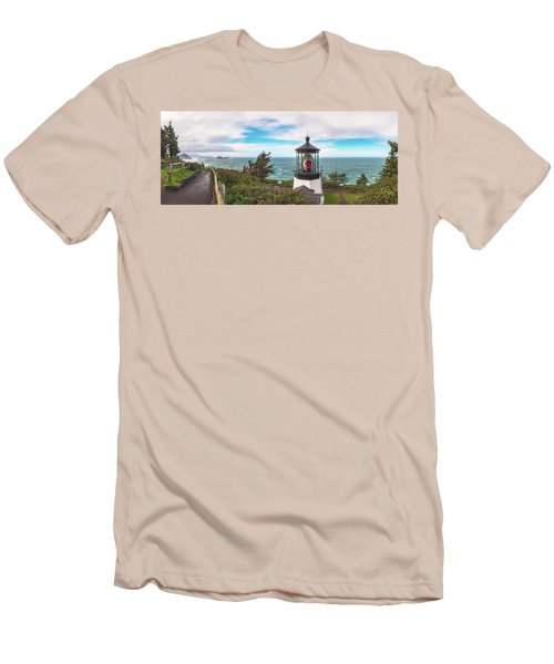 Men's T-Shirt (Athletic Fit) featuring the photograph Cape Meares Bright by Darren White