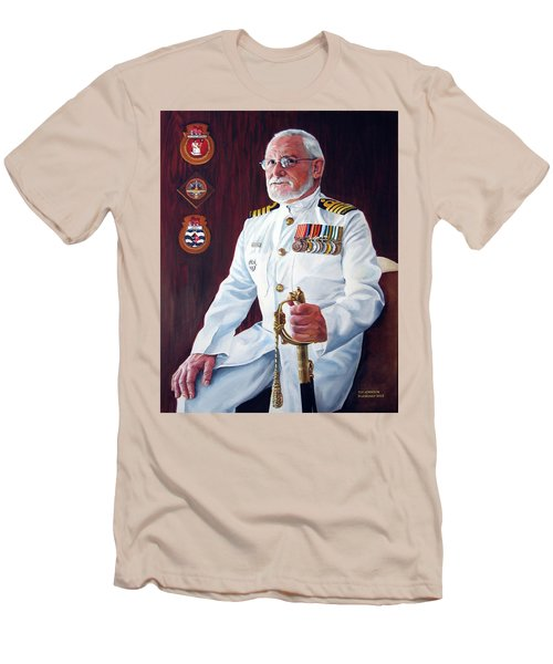 Capt John Lamont Men's T-Shirt (Athletic Fit)