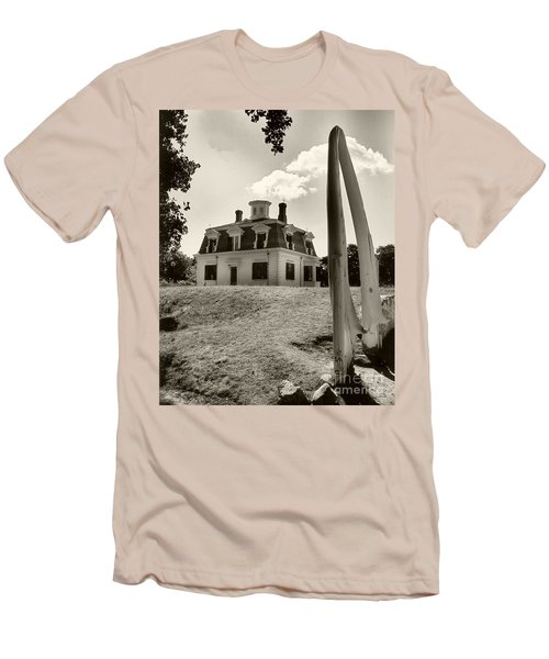 Men's T-Shirt (Slim Fit) featuring the photograph Captions Home by Raymond Earley