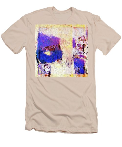 Men's T-Shirt (Slim Fit) featuring the painting Captiva by Dominic Piperata