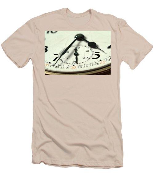 Captured Time Men's T-Shirt (Slim Fit) by Michael McGowan