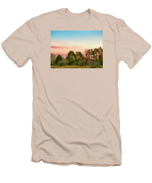Men's T-Shirt (Slim Fit) featuring the photograph Car Scenery by Susan Crossman Buscho