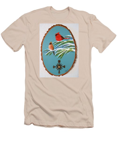 Cardinal Clock Men's T-Shirt (Athletic Fit)