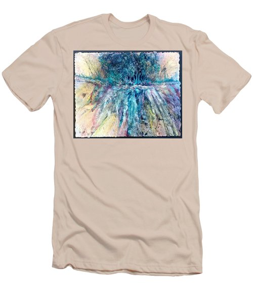 Cascade Ridge Men's T-Shirt (Slim Fit) by Carolyn Rosenberger