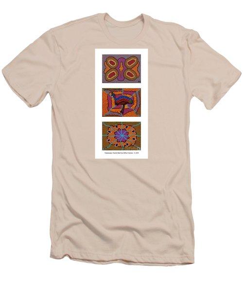 Cassowary - Food - Nest Men's T-Shirt (Slim Fit) by Clifford Madsen