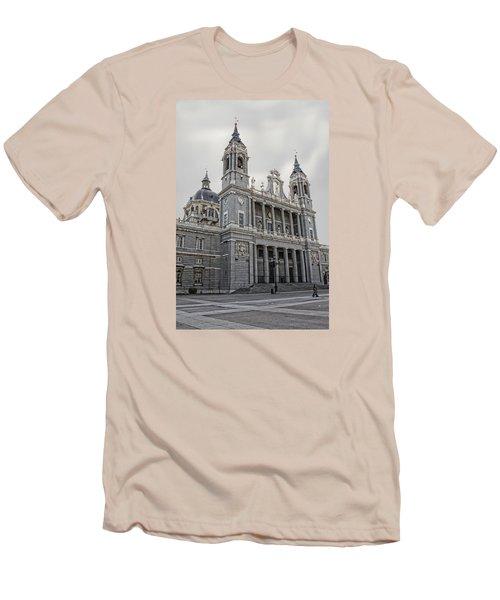 Men's T-Shirt (Slim Fit) featuring the photograph Catedral De La Almudena by Angel Jesus De la Fuente