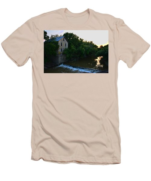 Cedar Point Mill Men's T-Shirt (Slim Fit) by Keith Stokes