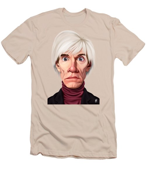 Celebrity Sunday - Andy Warhol Men's T-Shirt (Athletic Fit)