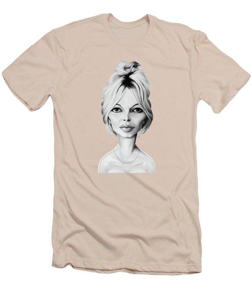 Celebrity Sunday - Brigitte Bardot Men's T-Shirt (Athletic Fit)