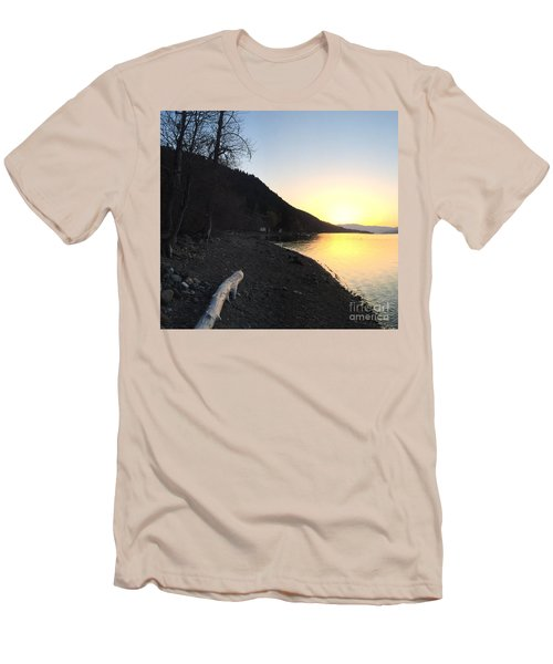 Celista Sunrise 1 Men's T-Shirt (Slim Fit) by Victor K