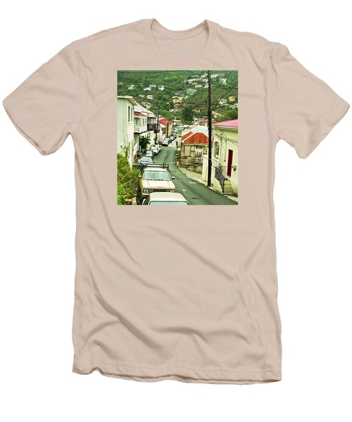 Charlotte Amalie Neighborhood Men's T-Shirt (Athletic Fit)
