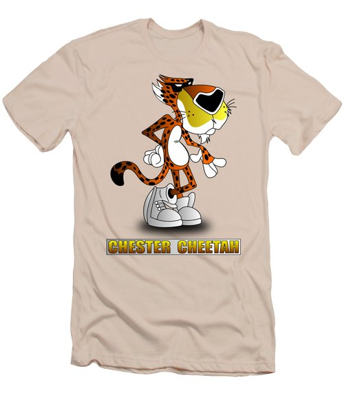 Chester Cheetah Men's T-Shirt (Athletic Fit)