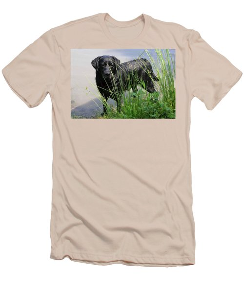 Men's T-Shirt (Slim Fit) featuring the photograph Chicago 0121 by Guy Whiteley